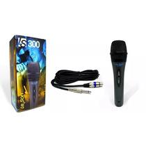 Microfone Dinamico Vocal Karaoke Leson Ls-300