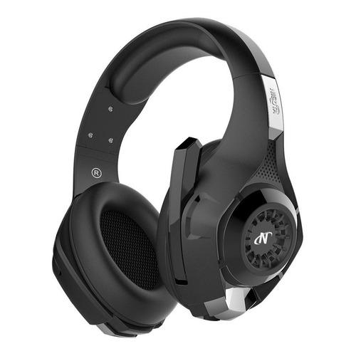 Auriculares gamer Nisuta NSAUG300 negro