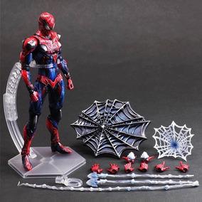 Homem Aranha Spiderman Play Arts Kai 26cm