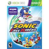 Sonic Free Riders Xbox 360 Juegos Originales Usados Kinect