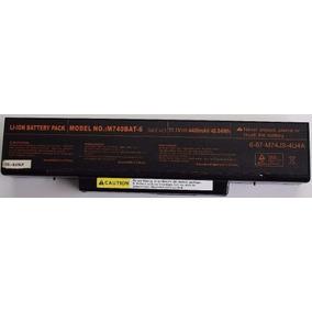 Bateria Original Notebook M740bat-6 11.1v 4400mah 48.84wh