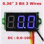 Mini Voltimetro Digital De Panel De 0 A 100 Vdc Arduino Mona