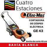 Cortadora De Césped Eléctrica Oleo Mac Ge 43