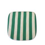 Almofada P/ Poltrona Verde / Branca 10und