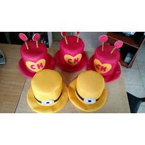 Sombreros Personajes, Chapulin, Mickey, Etc.
