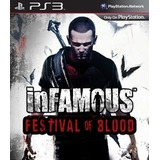 Infamous Festival Of Blood Ps3