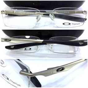 706f489c0cdea Oculos Com Aro Metal Sem Lente Oakley - Óculos no Mercado Livre Brasil