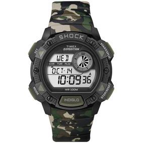 Reloj Timex Shock Expedition Camo Militar Con Envío Entre La
