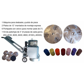 Máquina Kit De Pulido Diamantado De Pisos Concretos Epoxicos