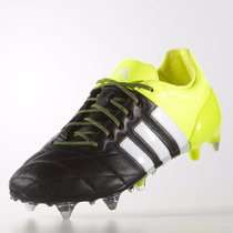 Chuteira Campo Adidas Ace 15.1 Sg Couro Leather Pro 1magnus