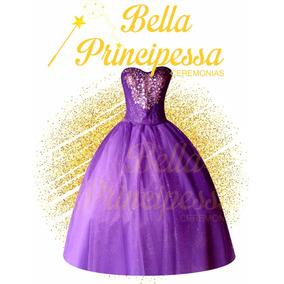 Vestido De Xv Años Falda Corta Larga + 4 Regalos Quinceañera