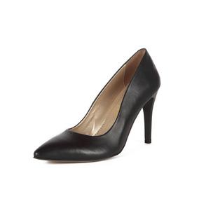 Zapatos Mujer Stivali Chiara Cuero Negro