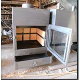 Estufa Industrial Calefactor A Leña Chapa 10mm