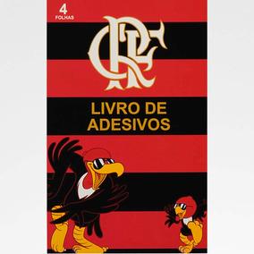 Livro De Adesivos Flamengo