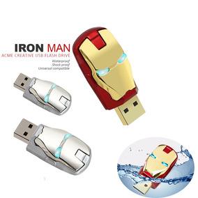 Pen Drive 16gb Iron Man 3 16gb Homem De Ferro Frete Barato