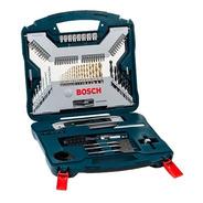 Set Mechas Bosch Titanio 100 Piezas P/ Taladro Puntas Xline