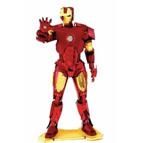 Rompecabezas 3d Metal Puzzle Iron Man, Avengers