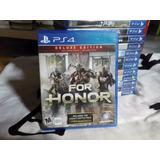 For Honor Deluxe Edition Para Ps4 Nuevo Sellado