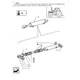 Reparo Vedação Pistão Direção Trator Ford 8430 4x4