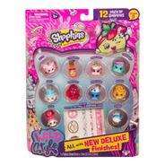 Shopkins Pack De 12 Con 1 Sorpresa + 2 Mini Mochilas Serie 5