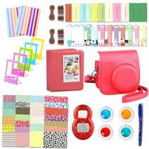 Kit De Accesorios Para Fujifilm Instax Mini 8 Varios Colores
