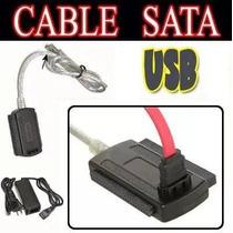 Cable Adaptador Convertidor Disco Duro 3 E 1 Usb Sata Ide Hd