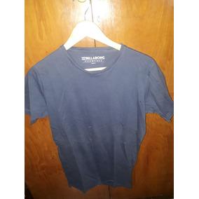 Remera Billabong Azul Basica