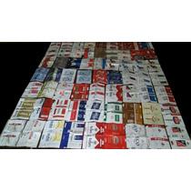 Coleccion Etiquetas De Cigarrillos Nacionales E Importdadas