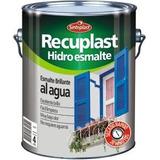 Recuplast Hidroesmalte Blanco Brillante X4 Litros Sinteplast
