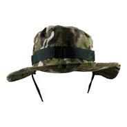 Chapéu Bonnie Hat Militar Pescador Camuflagem Verde