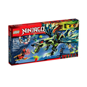 Lego Ninjago Ataque Do Dragão Moro 658 Peças 70736