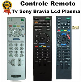Controle Remoto Tv Sony Bravia Lcd Plasma + Promoção