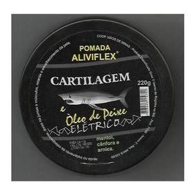 12 Und Pomada Cartilagem Tubarão & Óleo De Peixe Elétrico