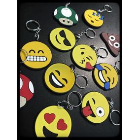 Chaveiro Emborrachado Emoji Emoticons 110pcs :frete Gratis: