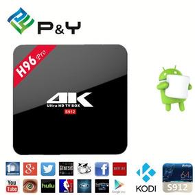 Tv Box 4k Ultra Hd + Lista