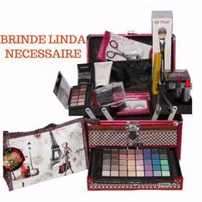 Maleta Maquiagem Completa Ruby Rose + Brinde Necessaire M44