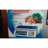 Balanza Electronica Tech Food Con Sencamer