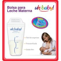 Bolsas Leche Materna Uhbaby! 3x2 = 75 Bolsas - Ahorro $ 320