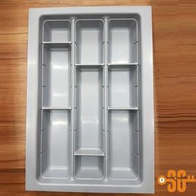 Cubiertero 32 Cm Con Separadóres Móviles Cajón Mueble Cocina
