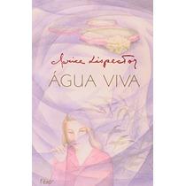 Livro Água Viva De Clarice Lispector - Novo