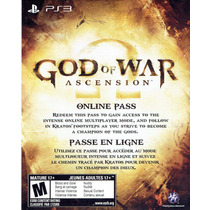 Ps3 - Pass Online Ascension (acepto Mercado Pago Y Oxxo)