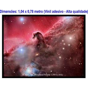 Papel De Parede Adesivo Nebulosa Cabeça De Cavalo, Espaço