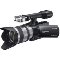 Filmadora Sony Nex Vg20 +lente 18-55 E Baterias Troco Iphone