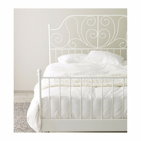 Base Fierro Cama Matrimonial Ikea
