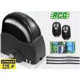 Kit Motor Portão Automático Eletrônico 1/4hp 110v - Rcg