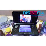Nintendo 3ds (usado) + Cargador + Mem 4gb + 300 Titulos