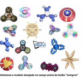 Fidget Hand Spinner Toy Anti Stress Várias Cores E Modelos