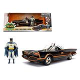 Batman Batimovil Tv Serie 1966 Escala 1/24 Dc Original Nuevo