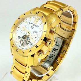 5ef518b68a0 Relógio Bvlgari Aço E Ouro - Joias e Relógios no Mercado Livre Brasil