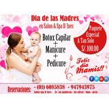 Salon Spa D´ines Paquetes Especiales Por El Dia De La Madre